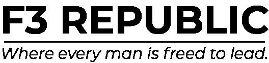 F3 Republic - For the invigoration of male community leadership